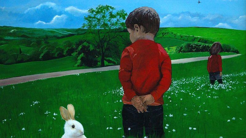 Pourrain Acrylic Acrylic Painting Acryliques Fresque Fresquemurale Front View Lapin Maternelle Peinture Peinture Murale Perspective Portrait Pourrain Yonne Young Men École