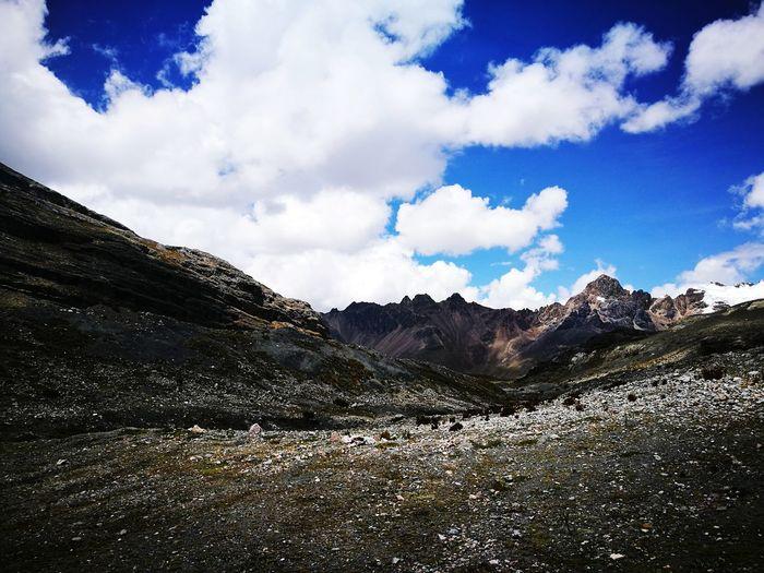 Respect Nature Peru Lima Latin America Gletscher Mountain Nature Nature Photography Sky Cloud - Sky Mountain Sky Cloud - Sky Mountain Range Landscape Desert Geology