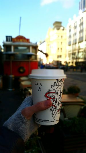 Hot Coffee In Cold Prague ☕ Morning Coffee Drink Food Stories