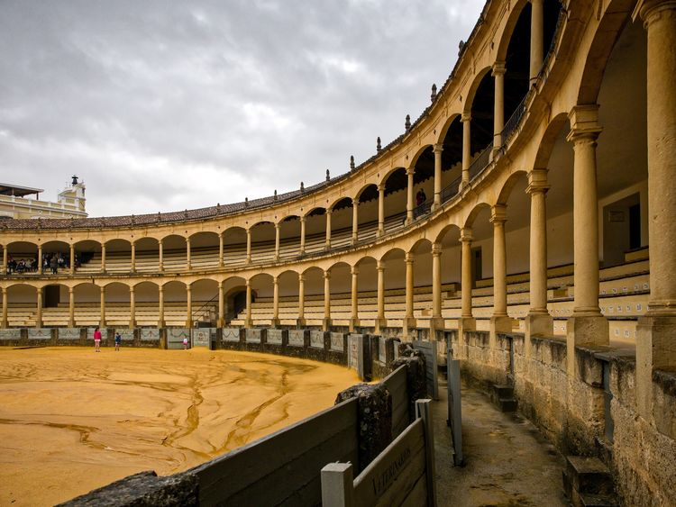 Ronda Architecture bullring Bullfighting Bullfighting Arena spain Espania