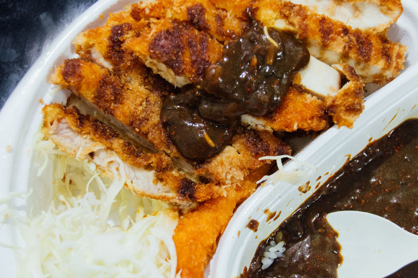 Close-up Compositions Curry Deli Eating Food Fried Pork Japanese Food Japanese Style Mealtime Ready-to-eat