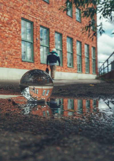 2019 Niklas Storm Juni City Water Wet Reflection Rain Architecture Building Exterior Built Structure Close-up Rainy Season Puddle Weather My Best Photo The Street Photographer - 2019 EyeEm Awards