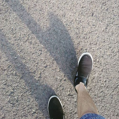 My Shadow's the only one that walks beside me. 100photos Fourthyfifth Greenday Walkingphotos Shoes Shadows