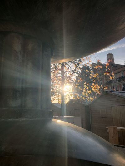 the real question is, why am i listening to kendrick lamar Architecture Built Structure Car Day EyeEm EyeEm Gallery EyeEm Nature Lover Indoors  Lens Flare No People Sheffield Sunbeam Sunlight Tree Window