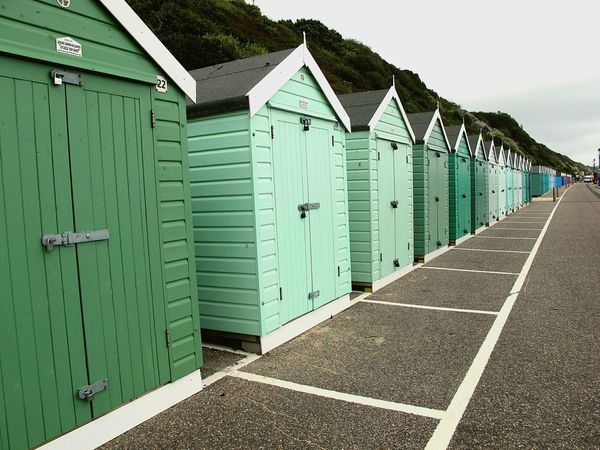 Summer Views going a little bit green now! By The Seaside Holiday POV Beachhuts Amazing Spaces England Englishcoast Greens Green OpenEdit