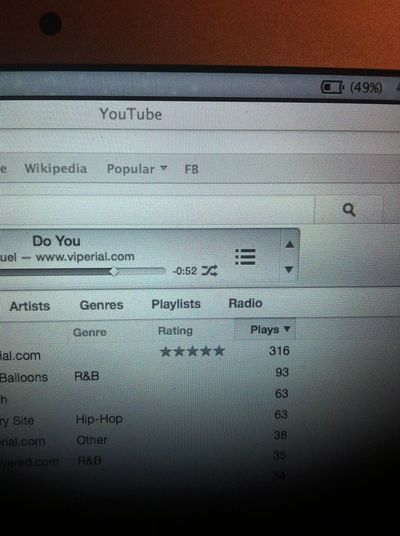 The addiction to this song is real 316 plays smh