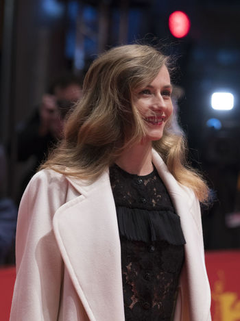 Berlin, Germany - February 24, 2018: Belgian actress Cecile de France attends the closing ceremony during the 68th Berlinale International Film Festival Berlin at Berlinale Palast 68th Berlinale Berlin Film Festival Celebrity Famous Film Festival Actress Beautiful Woman Berlinale Berlinale 2018 Berlinale Festival Berlinale2018 Berlinale68 Cecile De France Celebrities Fashion Film Industry Looking At Camera Red Carpet Red Carpet Event