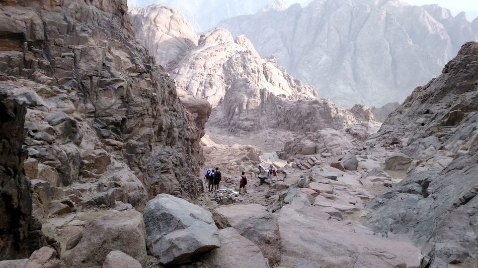 Adventure Beauty In Nature Climbing Day Egypt Extreme Terrain Glacial Hiking Landscape Large Group Of People Leisure Activity Mountain Mousa Mountain, Saint Catherine Nature Outdoors People Real People Rock - Object Saint Catherine Finding New Frontiers Traveling Home For The Holidays