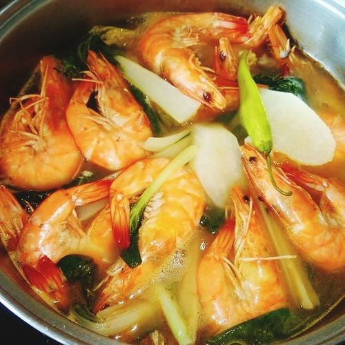 one good meal Seafood Soup Appetizer Chinese Food Gourmet Close-up Food And Drink