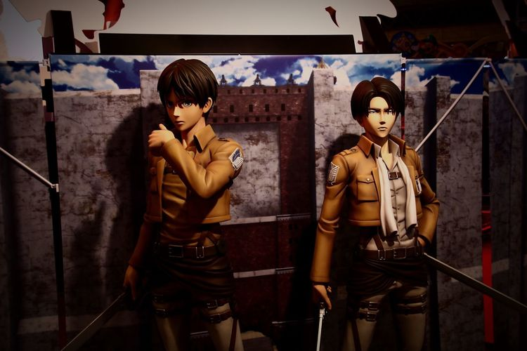 Attack On Titan Eren Levi Anime Japanese Culture Hello World