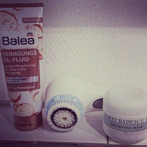 Now... Balea Clarisonic Mia2 Mariobadescu whiteningmask