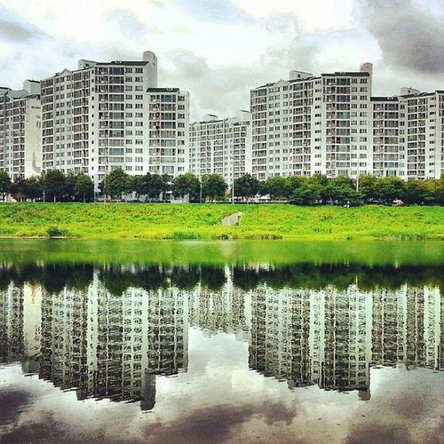 대구  금호강  반영 Geumho_river Daegu reflection