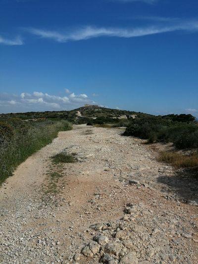 on walking...😊 Fortress Fortino Di Sant'Ignazio Cagliari, Sardinia Sardinia Sardegna Italy  Sardinia Sardegna Beach Sky Landscape Rock Formation Rock Rock - Object Cliff Rocky Coastline