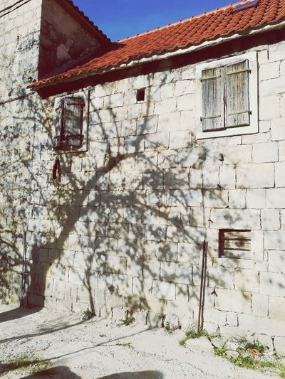 @croatia@dalmatia@old houses Built Structure Building Exterior Architecture Outdoors Weathered Day No People First Eyeem Photo