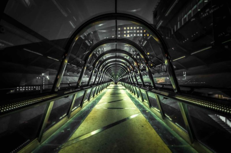 Architecture Modern Night Night Photography Paris Passerelle Perspective Street Photography Streetphotography Cities At Night