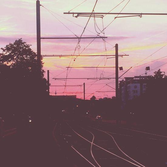 ✖️✖️✖️ Berlin Berlin Photography Berlinlove Sunset Lilac Sky Der Himmel Brennt Lila Wolken. Beautiful Beautiful Sunset Beautiful View