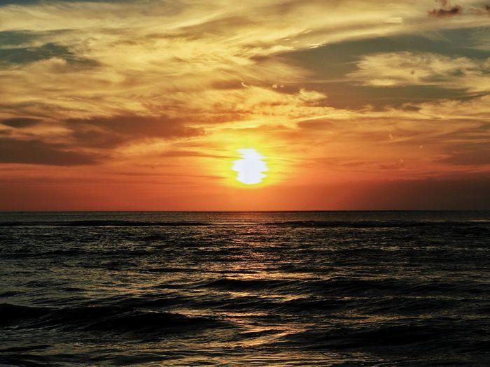 Sunset Water Sea Sunset Beach Horizon Sailing Nautical Vessel Backgrounds Summer Sunlight Romantic Sky Dramatic Sky Moody Sky Cloudscape Sky Only Meteorology Tide Cumulonimbus Cumulus Cloud