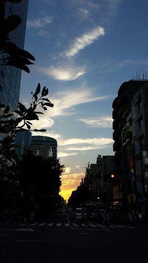 空 Sky Sky_collection 夕暮 夕焼け空