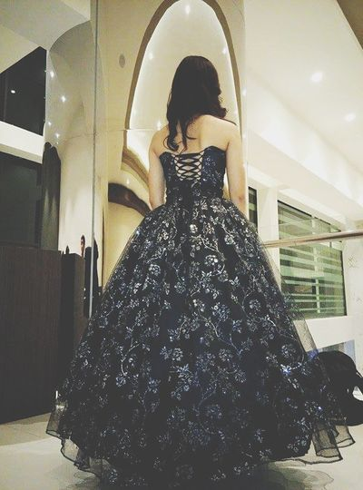 Wear a gown: finally off my bucketlist. Thank you Dags-san for the photo: ) Blackgown