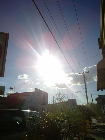 Sunshine ☀ Sky And City Atardecer
