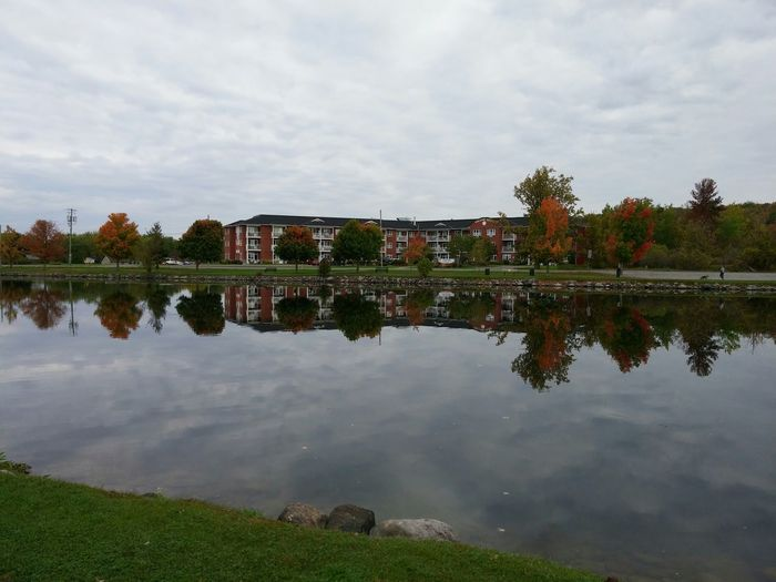 Sometimes my pictures turn out exactly right... No Filter Needed Fall Beauty Water Reflections