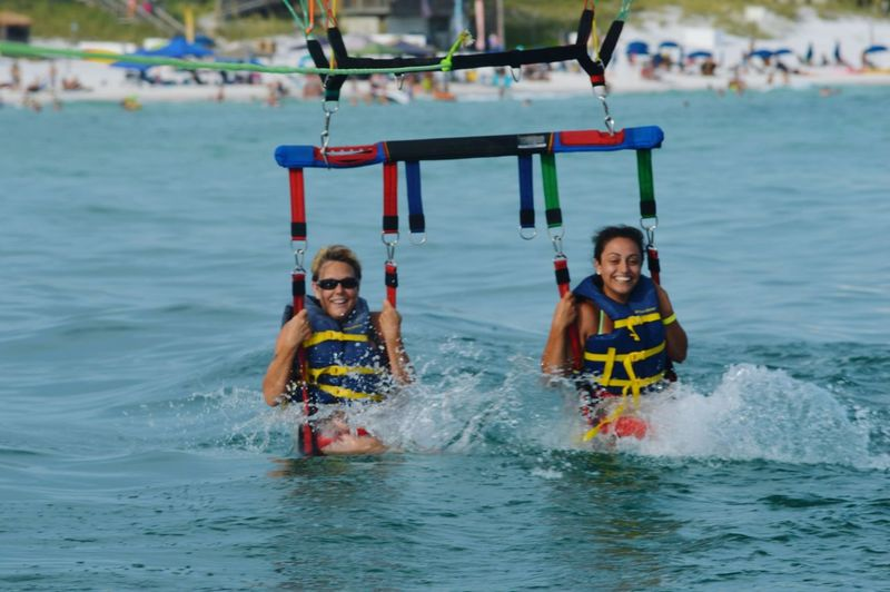 Parasailing Splash Down Florida Vacation Summer Fun