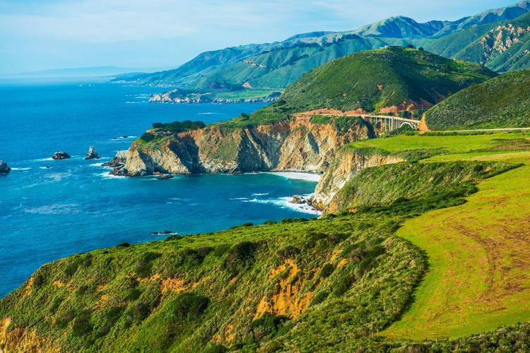 Scenic California Pacific Coast, USA California USA Coast Coastal California Landscape Ocean Scenery Scenics Shore California Dreamin