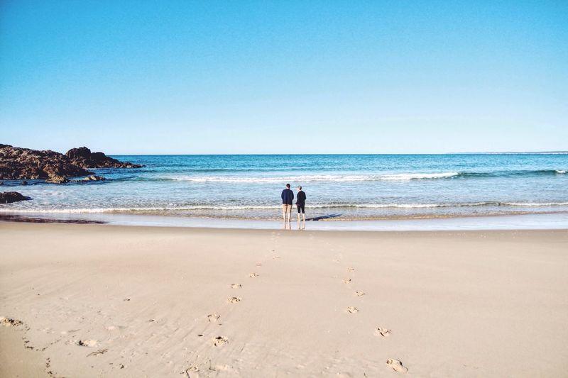 Beach Traveling