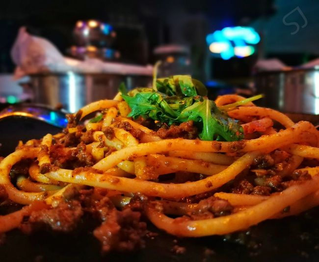 Hungry Man is a Dangerous Man 😊😊 Night Food Unhealthy Eating Illuminated No People Freshness Ready-to-eat Close-up Fast Food Outdoors UAE , Al-Ain City Abu Dhabi UAE Flag Dubai UAE Spagetti Meat! Meat! Meat! Meatlovers Spagetti Time Dark Vivid Dener Denertime Love Love ♥