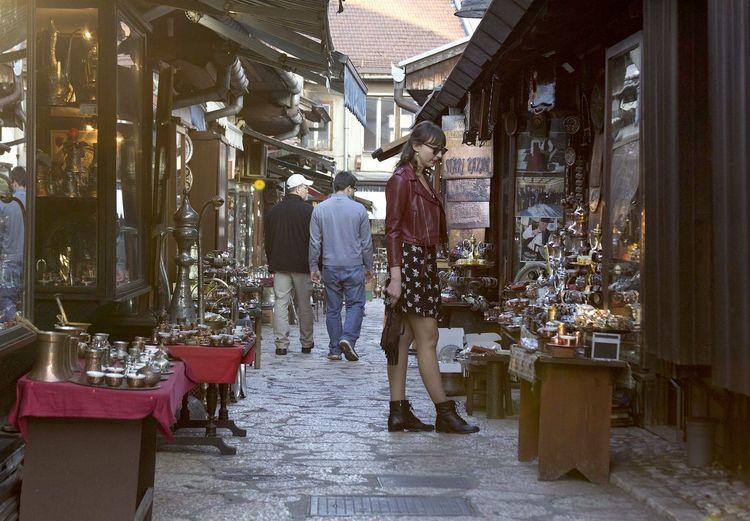 First Eyeem Photo Bascarsija Sarajevo Girl Oldtown