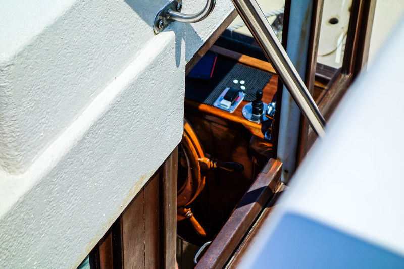 Australia Boats⛵️ Captainscabin Detail Exclusive  Journey Luxury Nautic Nautical Noosa Noosaheads Salt Water Shipping  Steering Wheel Timber Tourism Tourism Destination Transportation Travel Destinations Travel Photography Traveling Water White Yacht