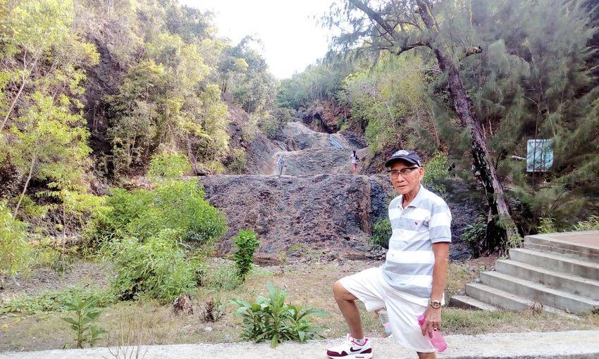 Arthuro Rebaño. Modeling Pose Tangalan Jawilifalls Nature Nature_collection Nature Photography Naturelovers Aklan Philippines Falls Philippines Photos
