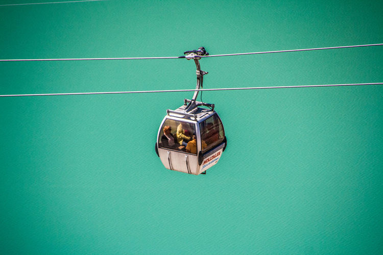 Austria Blue Cabin Cable Car Cables Flying High Carinthia Green Height High Angle View Kärnten Lake Metal MölltalerGletscher Passengers People Protection Ripple Safety Single Object Turquoise On The Way Water The Great Outdoors - 2016 EyeEm Awards Feel The Journey