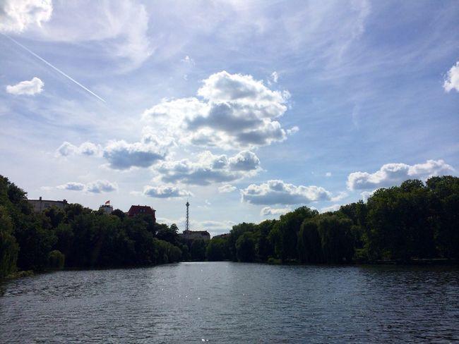 Sommer Sonne Sonnenschein  am Lietzensee