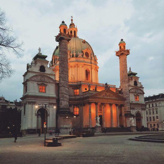 Wien at dusk First Eyeem Photo