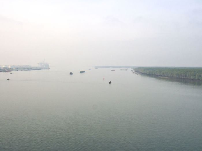 Port of Phu My in Vietnam Boats Harbor Phu My Hung Port Shipping  Ships Vietnam Working Port