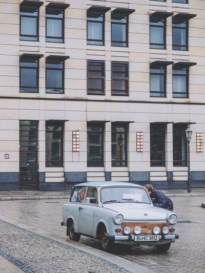 Transportation Architecture Building Exterior Built Structure Car Land Vehicle No People Outdoors Mode Of Transport Day City Tree Classic Car Capture Berlin City Olympus Berlin Germany Brandenburg Gate Urban Geometry