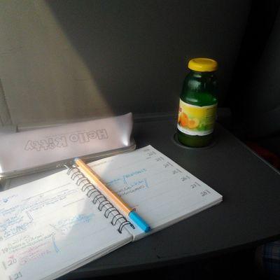 Verso Milano su Italo con la mia fida Agenda e @arussil Pago hellokitty journal