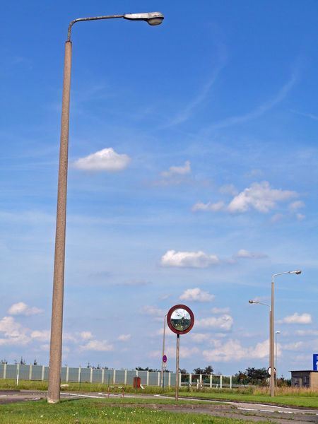 Autobahnkontrollpunkt Helmstedt Bundesautobahn 2 Cloud - Sky Day DDR Gemeinde Marienborn Grass Grenzübergang Helmstedt-Marienborn Grenzübergangsstelle Marienborn Helmstedt Innerdeutschen Grenze Kontrollpunkt Helmstedt Landscape Museum Nature No People Ostalgie Outdoors Sky