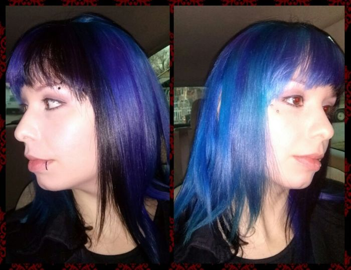 new dye Blue Hair