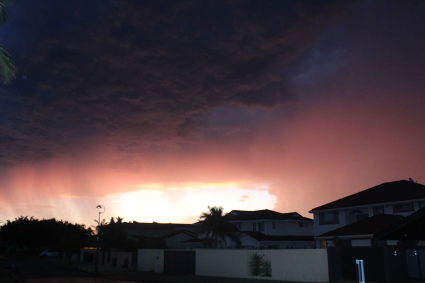 Beauty In Nature Cloud - Sky House Nature Outdoors Sky Storm Storm Clouds At Sunset