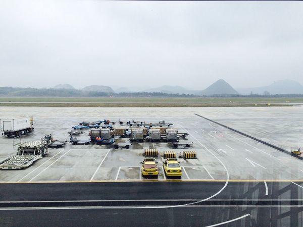 貴陽再見 Airport Plane Landscape Mountain