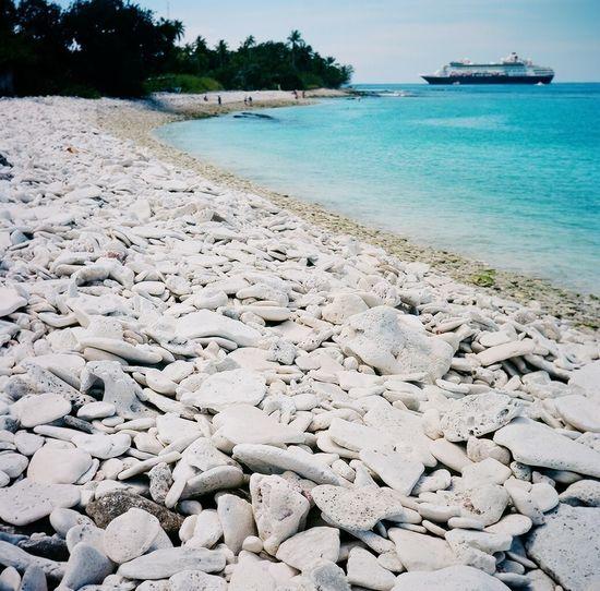 Cruise Ship Real Film Fanning Island Lubitel 166+