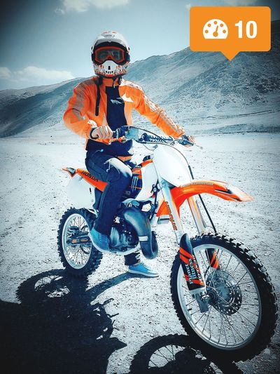 Honda Motorcycle Orange Boy Iran Like Arak WOW Eye4photography  EyeEm