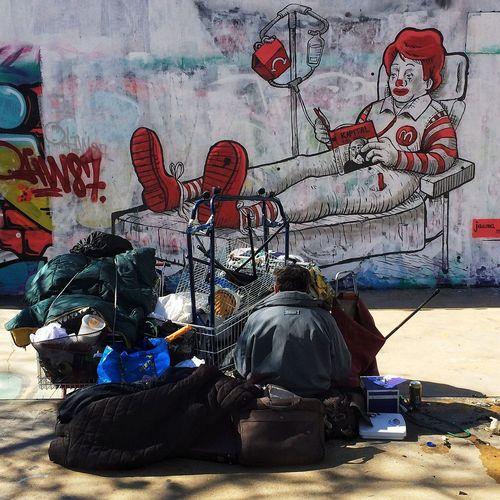 • JAUME MONTSERRAT • ...there's no Kapital... Jaumemontserrat (null)Bcn Street Art Streetphotography Murslliures Streetart