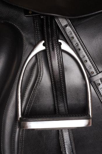 Close Up Horse Saddle Stirrup