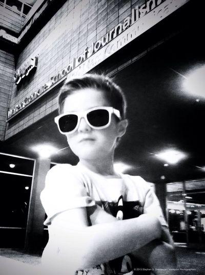 Blackandwhite My Son