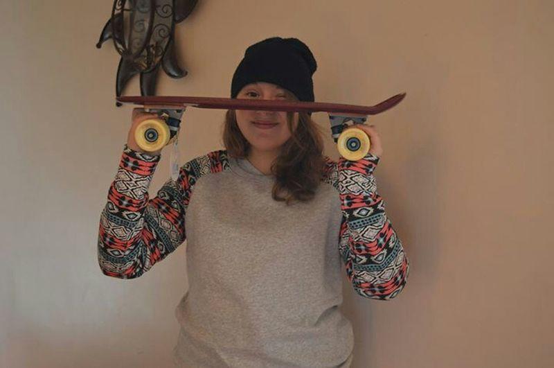 Christmas Presents Me Skateboarding Girl ??