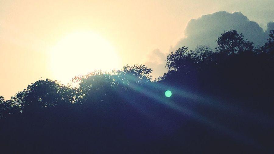 Sunbeam Lens Flare Sunset Low Angle View Day Clear Sky Sun Light Sunshine Sunlight Sunny Day Sunny Sun Sun And Clouds Sun Rays Sunrise_sunsets_aroundworld Sunset_collection