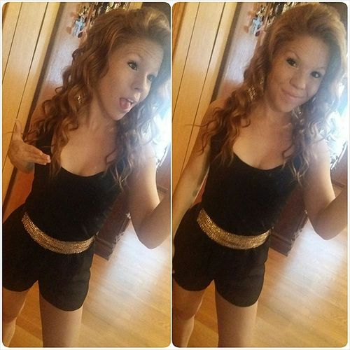I could get use to these Goodhairdays Haironpoint Romper Thirstythursday redhead curlyhead